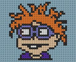 Chuckie Cross Stitch by drsparc