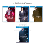 The Daniel Craig 007 Collection - Blu-ray Box Art by spacer114