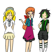 Power Puff Girls- Style Watch by Shellybelly95