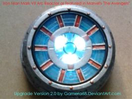 Iron Man Mark VII Arc Reactor, Version 2.0 by gamera68