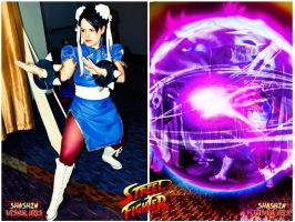 Chun-li cosplay edit by Soniclinx