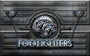 Foo Fighters Metal Wall by vectorgeek