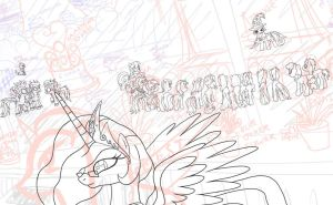 MLP FiM Global Illustration WIP_08 by alexmakovsky