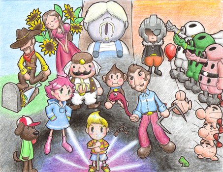 The World of MOTHER 3 by GeoPyro