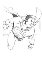 Superman sketch by RobertAtkins