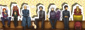 Fate Zero Characters by LotusMartus