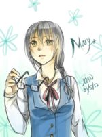 Doodle Mary by christon-clivef