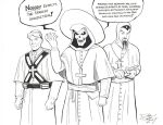 Nobody Expects... by ComicBookArtFiend