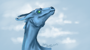 Pern Blue 2013 by SilverDragalos