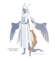 Pokemon Black - Reshiram by lordmegi