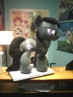 Octavia Plushie finished! by ponydeath