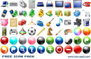 Free Icon Pack by shockvideoee