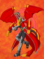 Kamen Rider Wizard Dragon complet by WarriorIkki-toac50