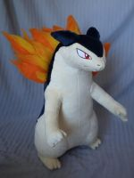 Typhlosion Plush by makeshiftwings30