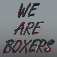 We Are Boxers 1200x1200px by f0xy0k