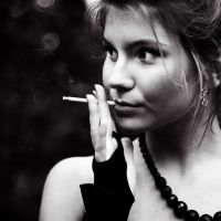 my friend cigarette by aubier