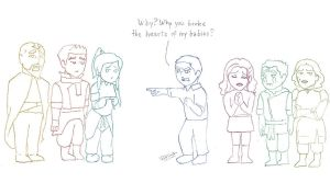 Why you broke the hearts of my babies? by Pabloeinstein