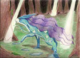 Suicune by MusicMew