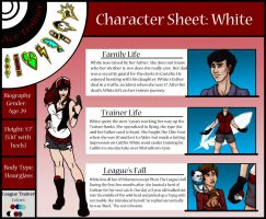 Character Sheet: White by TeamHeartGold