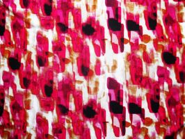 Pink and Black Abstract Fabric Texture by nopromises-stock