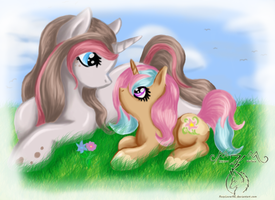 Draw to Adopt Entry: Floraletta by FoxyLover96