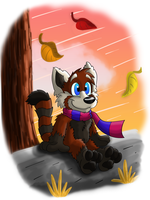 Autumn days by Hukley