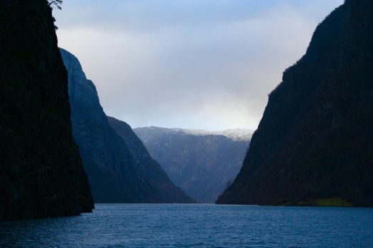 Sognefjorden, Norway by Maralily
