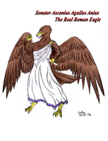 Roman Eagle - Ascanius by Chobaryu