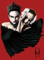 Black Swan by M-lovedAngel