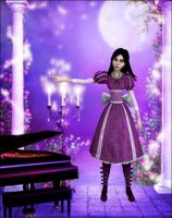 Purple picture by Lady-Lili