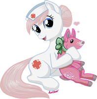Valentine 2012: Nurse Redheart by hollowzero