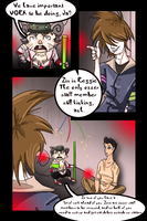 Round One Page Three by lucidflux