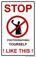 STOP photographing yourself by wheepingguitar