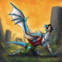 DRAGONS: Chalur by Ageaus