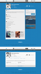 Minimalized LinkedIn Concept by UJz