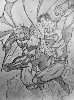 Batman Vs Superman by DiegoE05