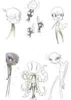 irken spirit and ender class monsters adopts open by anonymousinvader24