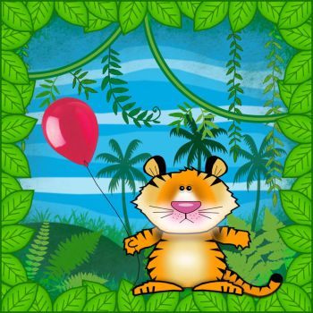 Tiger in the Jungle by Pacitubes
