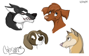 Dog Adoptables_ADOPTED_ by Coloran
