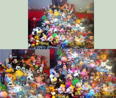 Disney Plush Collection by Biscuit-Rawr