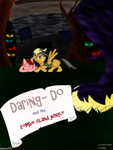 Daring Do And The Zombie Island Jungle -Cover by Stepany1234