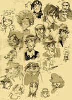 So many gangster here by Ellinor87