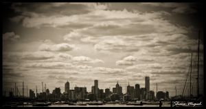 Melbourne city by Shanelove8881
