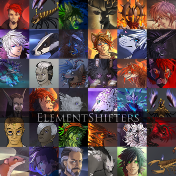 Elementshifters by YouAreNowIncognito