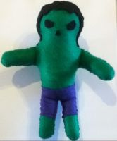 Hulk Plushie by Ruka-Tan