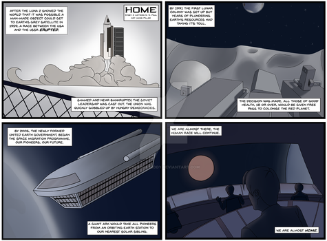 Weekly Comic Collab - Space by BuddhaTeddy