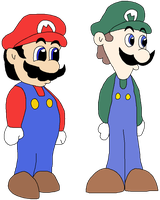 Malleo and Weegee by ClassicsAreDEAD