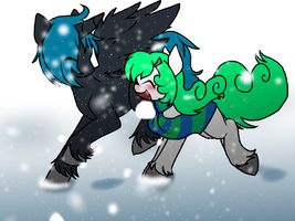 Snow commish by ThaMutt
