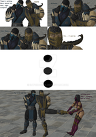 Mortal Kombat is a small comic by SatokoChan