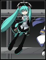 Colored Mikuveyer by CubeWatermelon